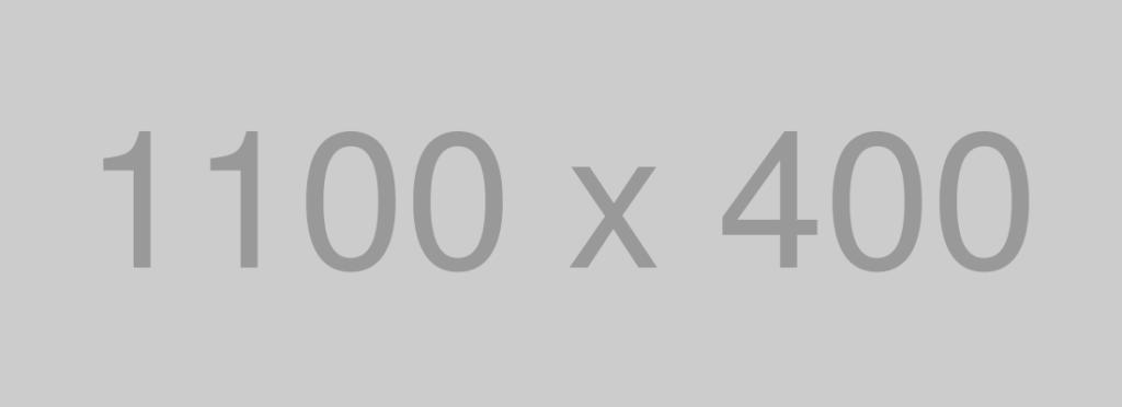 1100×400